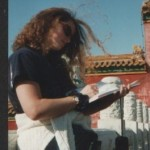 Paula Haughey in the Forbidden City in China